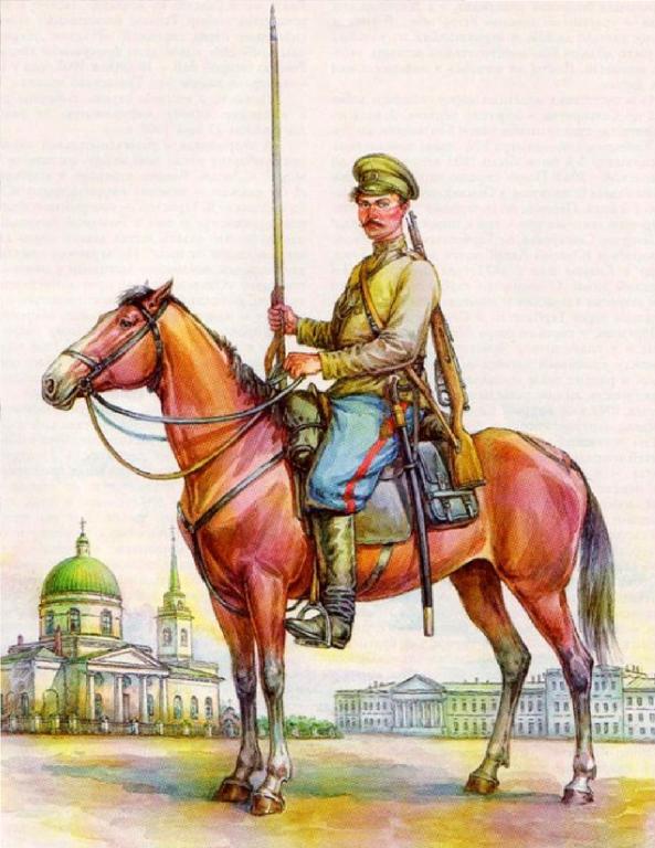 Днем, открытки с сибирскими казаками